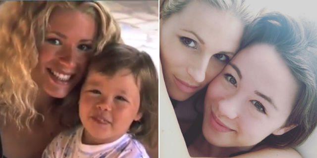 Michelle e Aurora: 20 anni di tenerezze e complicità tra mamma e figlia