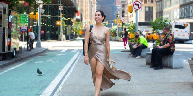 I commenti e le reazioni delle donne quando ho indossato per strada ... aa503ceb4e0