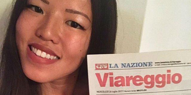 """La sua foto è in prima pagina con la scritta """"Invasione straniera"""": lei, italiana, risponde così"""