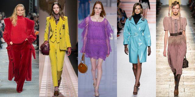 7 tendenze moda per l 39 autunno inverno 2017 2018 roba da for Colori moda inverno 2018