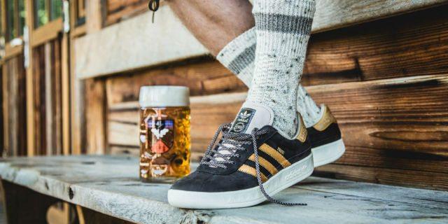 Arrivano le Adidas a prova di birra. Per l'Oktober Fest e le notti brave