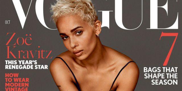 Quelle parole di Lenny Kravitz alla figlia Zoë, sulla copertina di Vogue