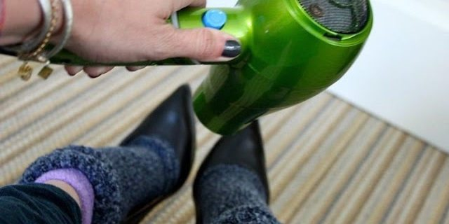 come allargare le scarpe col tacco