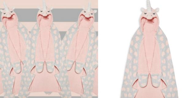 Tutte pazze per la coperta unicorno di Primark
