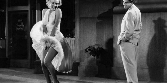 Gonna plissettata Marilyn Monroe