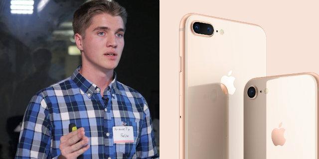 """L'esperimento di Krause: """"Tramite la telecamera iPhone possono spiarci"""""""