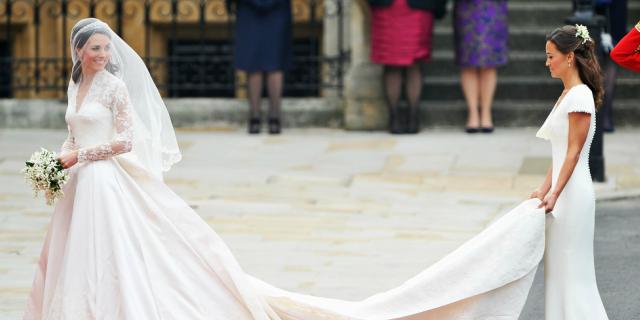 Kate Middleton ha indossato anche un secondo abito da sposa nel giorno delle nozze