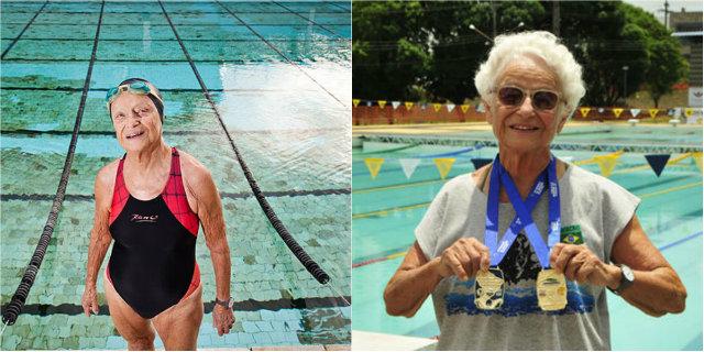 """Nora, campionessa a 93 anni: """"Se vuoi davvero fare una cosa, c'è sempre tempo"""""""