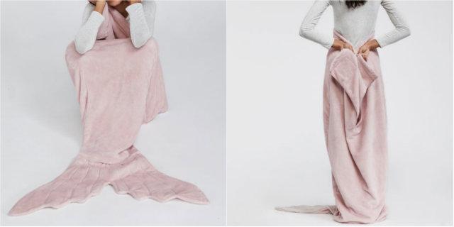 La coperta sirena in vendita da Oysho è ciò che ci serve per affrontare l'inverno