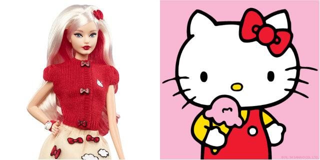 """La Barbie Hello Kitty è il regalo perfetto per le """"bambine diventate grandi"""""""