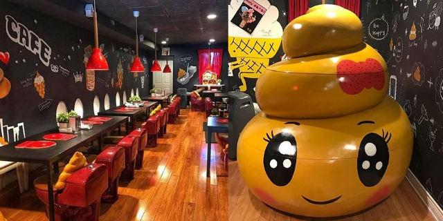 Siete pronte per il Poop Cafè? Ecco il bar dove ti siedi... direttamente sul water!