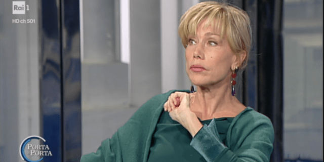 """Nancy Brilli sulle molestie: """"Posso dire una cosa volgare?"""""""