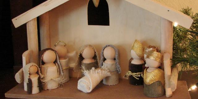 Presepe fai da te 5 idee originali roba da donne - Fai da te presepe casa ...