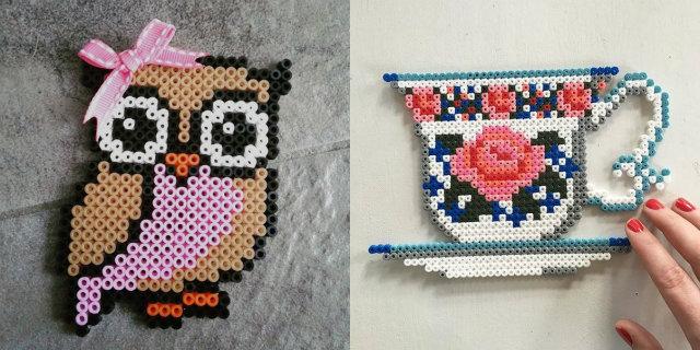 Hama beads: stirare non sarà mai stato così creativo!