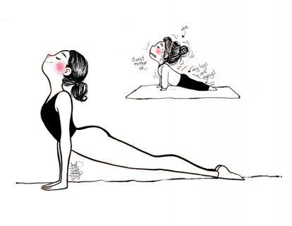 """""""Quando faccio yoga"""": aspettativa VS realtà"""