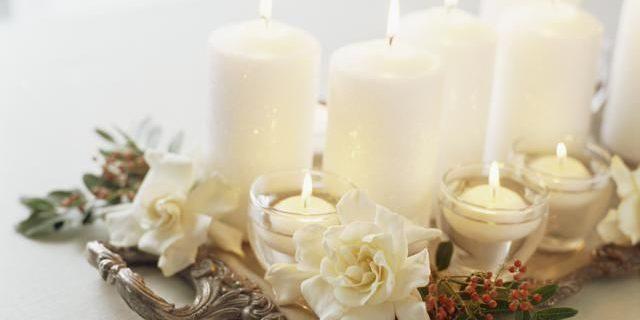 centrotavola natalizio candele