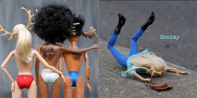 Nemmeno Barbie è perfetta e queste 20 immagini lo dimostrano