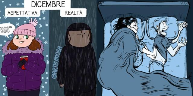 Il difficile rapporto delle donne con il freddo in 20 immagini