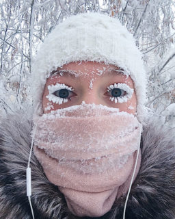 29 immagini che mostrano cosa significa vivere a -62°