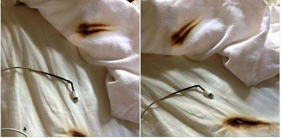Smartphone incendio