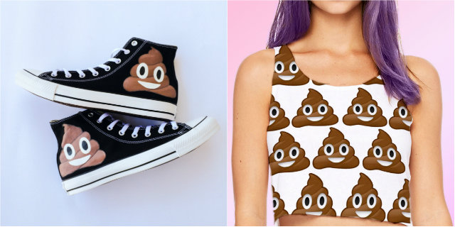Quando si dice moda di m...: la cacca diventa fashion