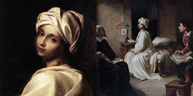 Quel bacio di Beatrice Cenci prima di essere decapitata per patricidio