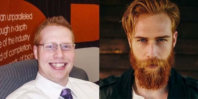 Il miracolo della barba: l'incredibile trasformazione di Gwilym Pugh