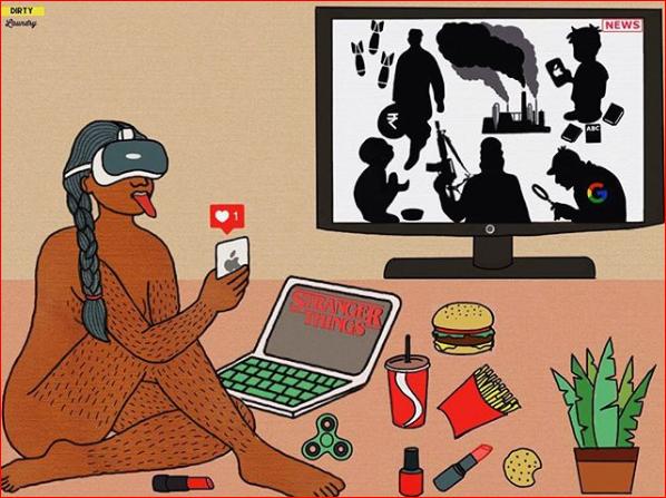 """I tabù """"sporchi"""" e la solitudine dei millennial in 17 immagini"""