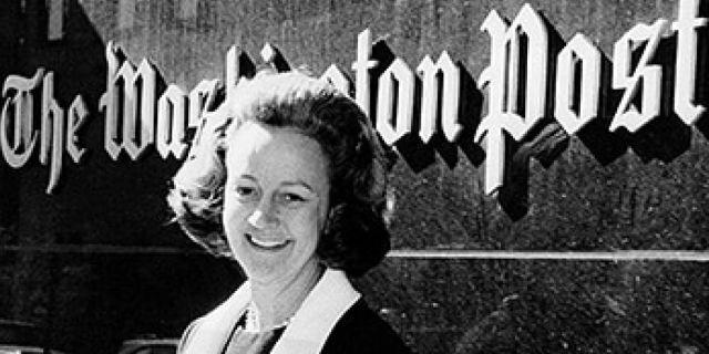 Katharine Graham, la donna che ebbe il coraggio della verità