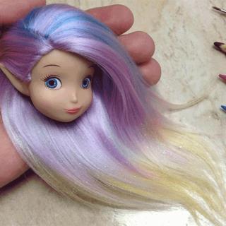 Le Barbie con i capelli personalizzati e super realistici di Rafinha