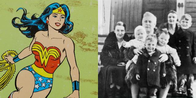 L'autore, la moglie e una studentessa: il ménage a trois che ispirò Wonder Woman