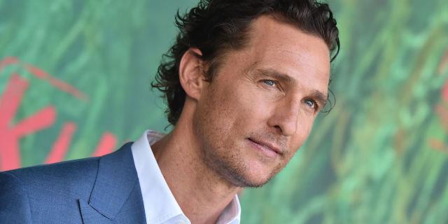 5 curiosità su Matthew McConaughey