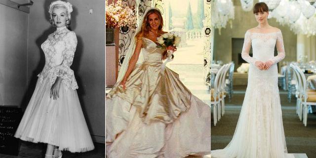 save off 8b078 1c01b I 34 abiti da sposa più belli visti nei film - Roba da Donne