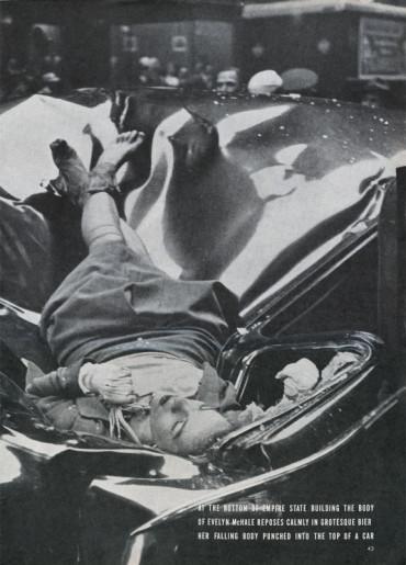 """Evelyn McHale e il mistero del """"suicidio più bello"""" immortalato in una foto"""