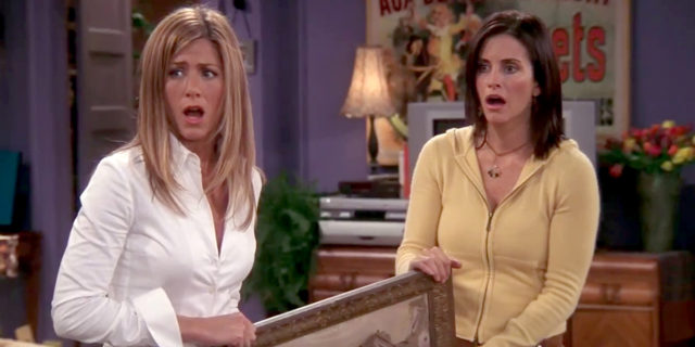 Le scene di Friends in cui Monica e Rachel non sono Courteney Cox e Jennifer Aniston