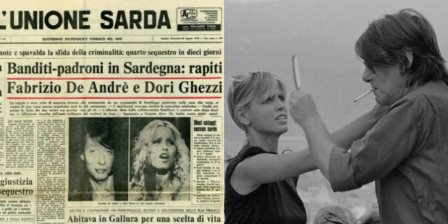 Fabrizio De André e Dori Ghezzi: il racconto dei 4 terribili mesi di sequestro