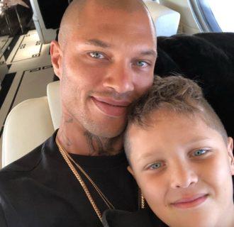 La nuova famiglia di Jeremy Meeks dopo il carcere e il divorzio