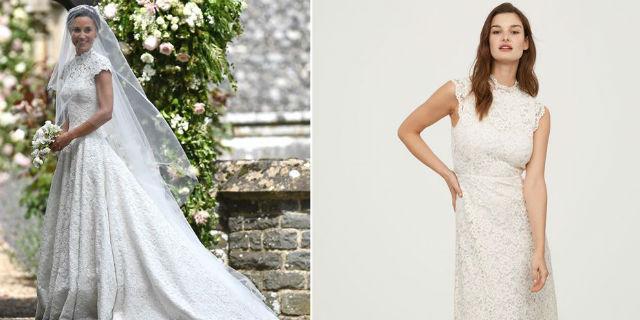 Il nuovo abito da sposa di H&M è come quello di Pippa Middleton