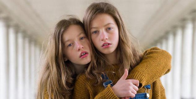 27 scatti di gemelli tanto identici quanto diversi