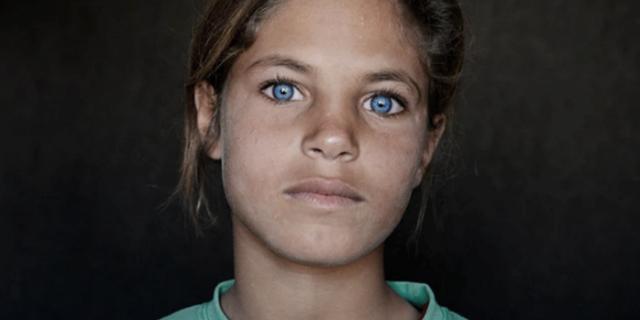 Che faccia hanno i figli della guerra, che non hanno mai conosciuto pace