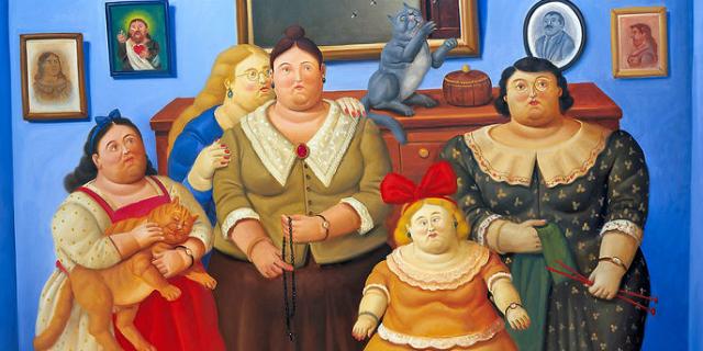 Perché le donne di Botero sembrano obese ma non lo sono