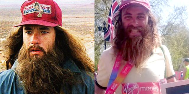 Chi è Rob, il Forrest Gump vivente che corre come quello del film