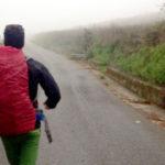 """""""Per salvarmi ho camminato per 4mila km dopo la morte di Marta e del nostro bimbo"""""""