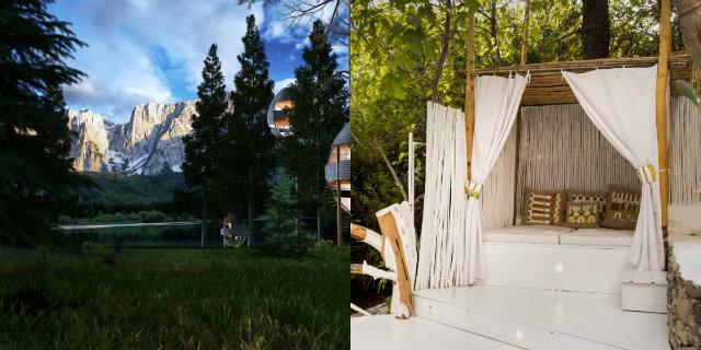 10 case sugli alberi in Italia per la vacanza più originale di tutte