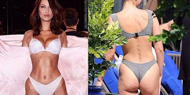 Anche le modelle di Victoria Secret mostrano le smagliature (e non solo)