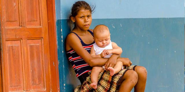 Le bambine madri abbandonate del Nicaragua: la maternità non è una colpa