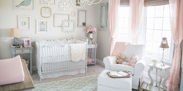 cameretta shabby neonato