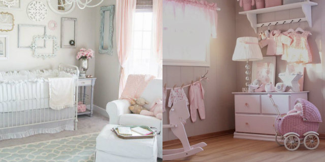 Camerette shabby chic: idee per bambini e teenager