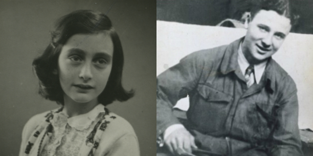 L'amore di Anna Frank per Peter van Pels e quel bacio prima dell'orrore