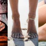 La cavigliera è l'accessorio dell'estate 2018. Ecco i segreti e i modelli più trendy!